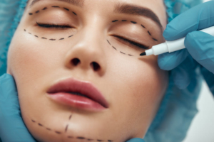 手術中イメージ 顔